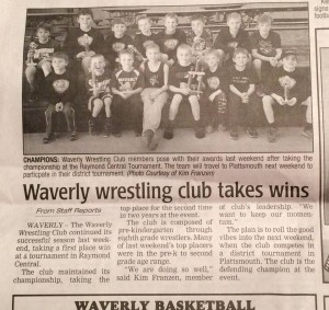 Waverly Newspaper 2 29 16