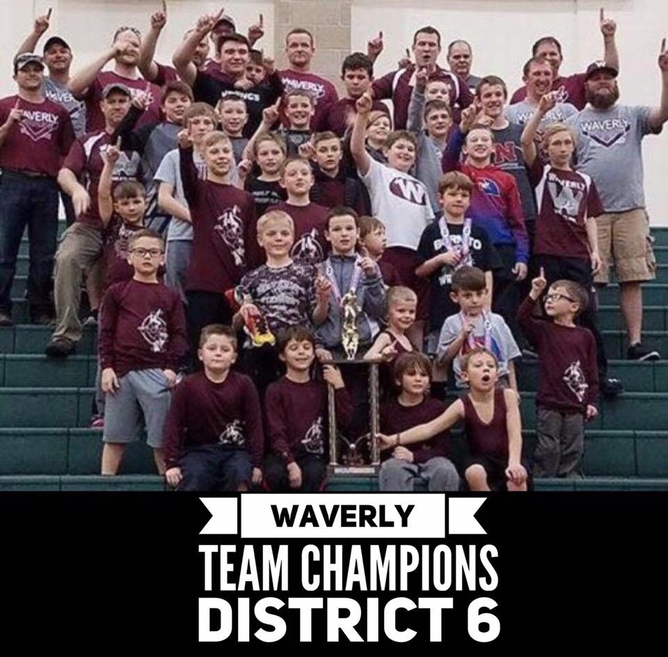 District Champs 5 years in a row!