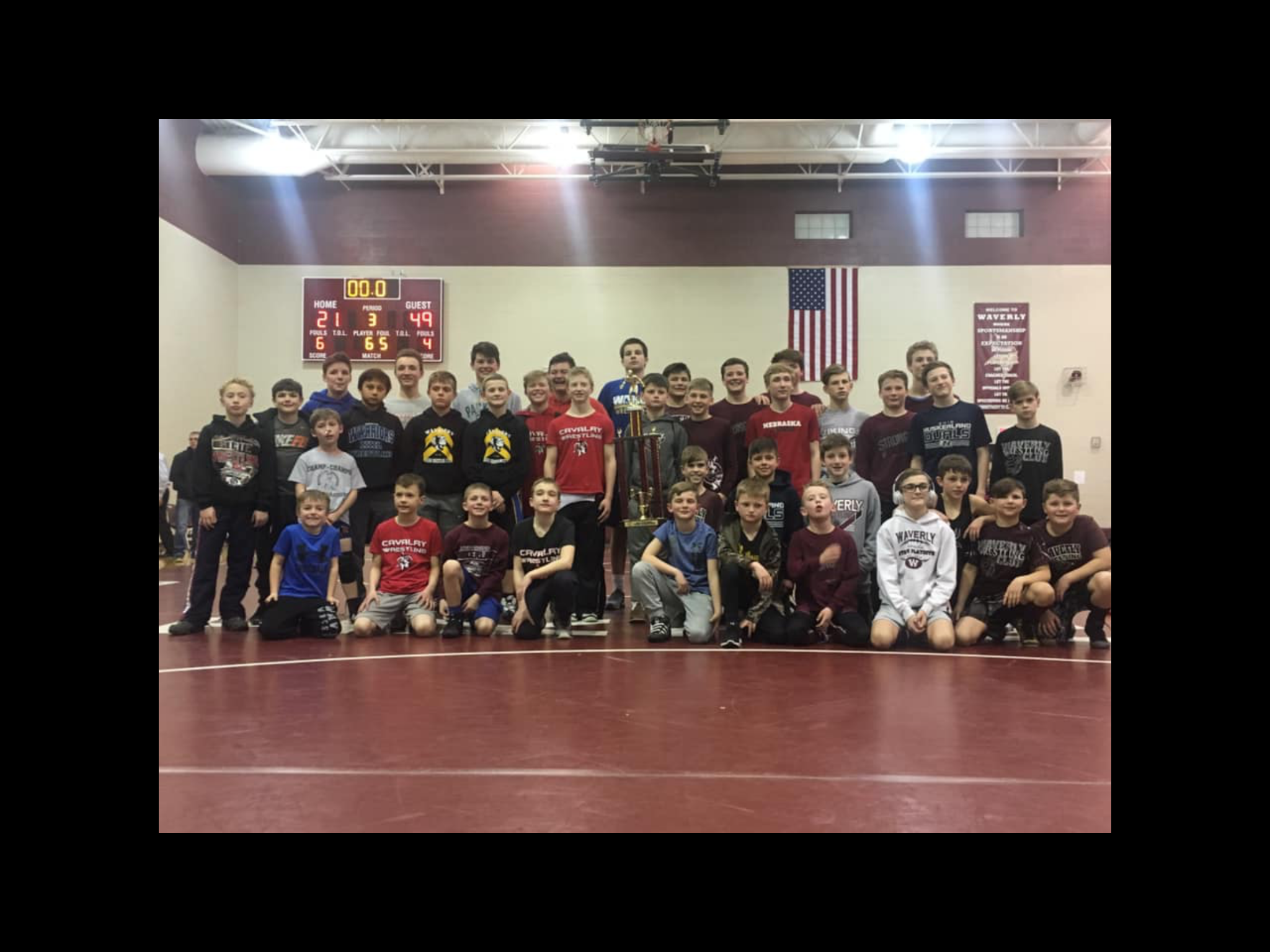 WWC wins 1st annual Waverly Dual Tournament